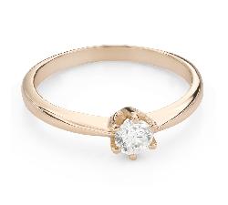 """Помолвочное кольцо с Бриллиантом """"Королева 80"""""""