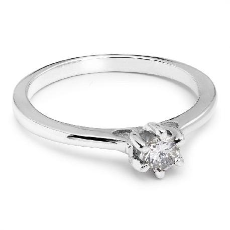 """Saderināšanās gredzens ar Briljantu """"Sirds karaliene 39"""""""