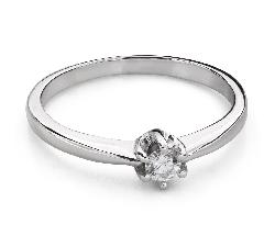 """Помолвочное кольцо с Бриллиантом """"Королева 84"""""""