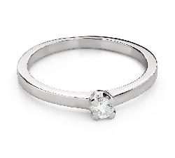 """Помолвочное кольцо с Бриллиантом """"Богиня 223"""""""