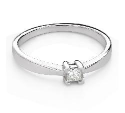 """Saderināšanās gredzens ar Dimantu """"Princese 121"""""""