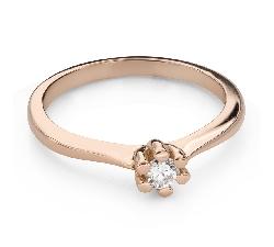 """Помолвочное кольцо с Бриллиантом """"Королева 87"""""""