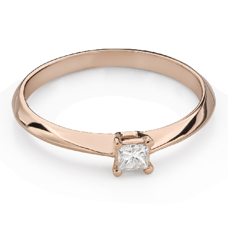 """Saderināšanās gredzens ar Briljantu """"Princese 126"""""""