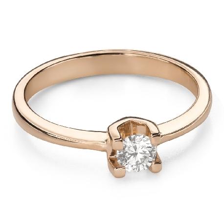 """Помолвочное кольцо с Бриллиантом """"Прочность 144"""""""