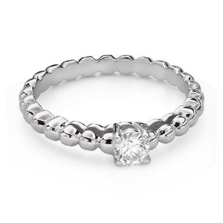 """Помолвочное кольцо с Бриллиантом """"Прочность 145"""""""