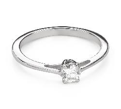 """Помолвочное кольцо с Бриллиантом """"Богиня 231"""""""
