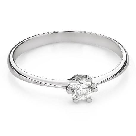 """Помолвочное кольцо с Бриллиантом """"Королева 92"""""""
