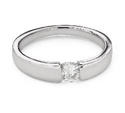 """Помолвочное кольцо с Бриллиантом """"Среди скал 66"""""""