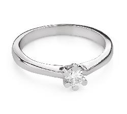 """Помолвочное кольцо с Бриллиантом """"Королева 97"""""""
