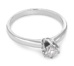 """Помолвочное кольцо с Бриллиантом """"Королева 101"""""""