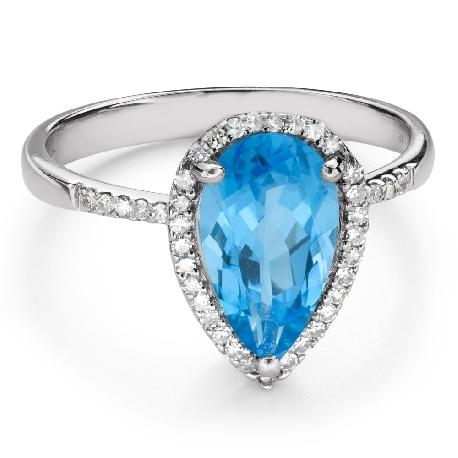 """Zelta gredzens ar dārgakmeņiem """"Krāsas 102"""""""