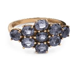 """Помолвочное кольцо с драгоценными камнями """"Сапфир 40"""""""