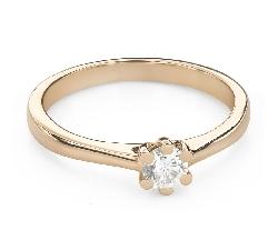 """Помолвочное кольцо с Бриллиантом """"Королева 103"""""""