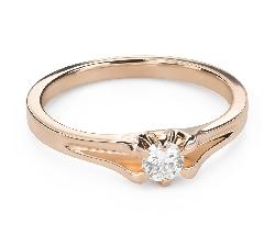 """Помолвочное кольцо с Бриллиантом """"Единственная 150"""""""
