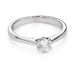 """Помолвочное кольцо с Бриллиантом """"Королева 105"""""""