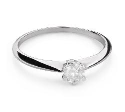 """Saderināšanās gredzens ar Briljantu """"Karaļmeita 107"""""""