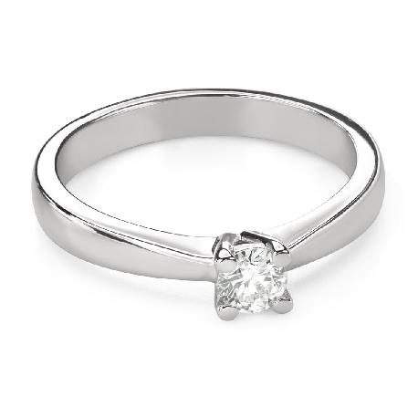 """Помолвочное кольцо с Бриллиантом """"Богиня 240"""""""