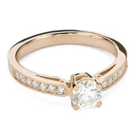 """Помолвочное кольцо с Бриллиантами """"Грациозность 149"""""""