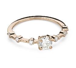 """Saderināšanās gredzens ar Briljantiem """"Elegance 27"""""""