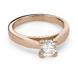 """Помолвочное кольцо с Бриллиантом """"Незабываемый 25"""""""