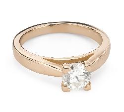 """Помолвочное кольцо с Бриллиантом """"Незабываемый 26"""""""