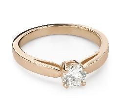 """Помолвочное кольцо с Бриллиантом """"Прочность 152"""""""