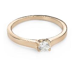 """Помолвочное кольцо с Бриллиантом """"Королева 120"""""""