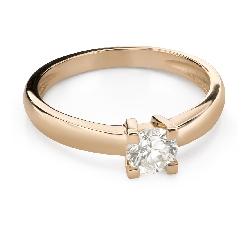 """Помолвочное кольцо с Бриллиантом """"Прочность 158"""""""