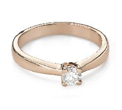 """Помолвочное кольцо с Бриллиантом """"Богиня 252"""""""