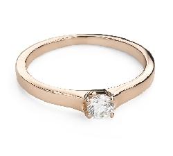 """Помолвочное кольцо с Бриллиантом """"Богиня 248"""""""