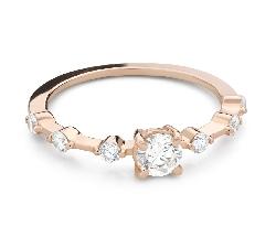 """Помолвочное кольцо с Бриллиантом """"Прочность 160"""""""
