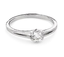 """Помолвочное кольцо с Бриллиантом """"Единственная 157"""""""