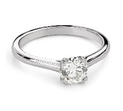 """Помолвочное кольцо с Бриллиантом """"Незабываемый 29"""""""