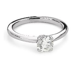 """Помолвочное кольцо с Бриллиантом """"Незабываемый 30"""""""