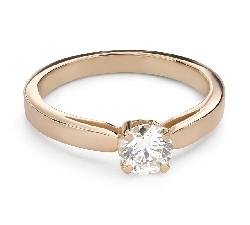 """Помолвочное кольцо с Бриллиантом """"Незабываемый 31"""""""