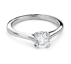 """Помолвочное кольцо с Бриллиантом """"Незабываемый 32"""""""
