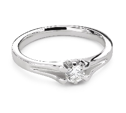 """Помолвочное кольцо с Бриллиантом """"Единственная 158"""""""