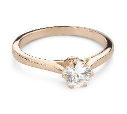 """Помолвочное кольцо с Бриллиантом """"Единственная 160"""""""