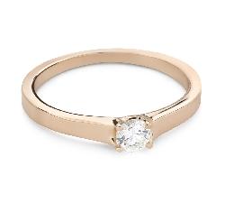 """Помолвочное кольцо с Бриллиантом """"Богиня 257"""""""