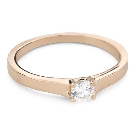 """Saderināšanās gredzens ar Briljantu """"Dieviete 257"""""""