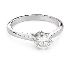 """Помолвочное кольцо с Бриллиантом """"Единственная 161"""""""