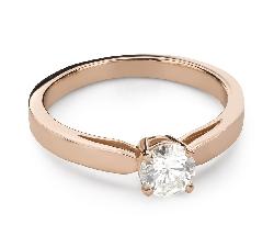"""Помолвочное кольцо с Бриллиантом """"Богиня 259"""""""