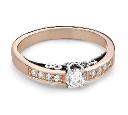 """Помолвочное кольцо с Бриллиантами """"Единственная 165"""""""