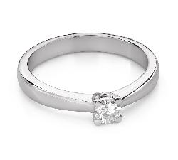 """Помолвочное кольцо с Бриллиантом """"Богиня 266"""""""