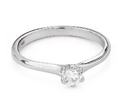 """Saderināšanās gredzens ar Dimantu """"Karaļmeita 126"""""""