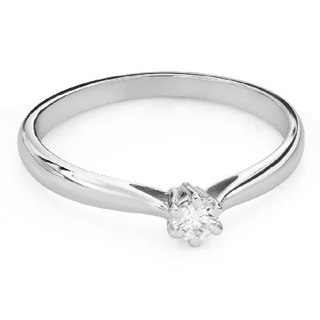 """Помолвочное кольцо с Aлмазом """"Королева 128"""""""
