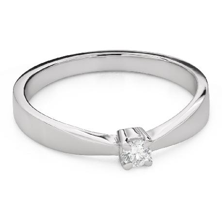 """Помолвочное кольцо с Бриллиантом """"Богиня 267"""""""