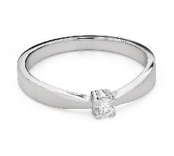 """Помолвочное кольцо с Бриллиантом """"Богиня 268"""""""