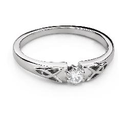 """Помолвочное кольцо с Бриллиантом """"Единственная 167"""""""