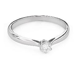 """Помолвочное кольцо с Бриллиантом """"Чистая 60"""""""